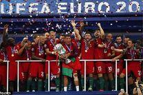 گزارش تصویری از قهرمانی پرتغال