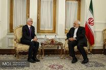 دیدار معاون دبیرکل سازمان ملل متحد در امور بشردوستانه با ظریف