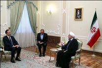 دیدار روحانی با وزیر خارجه قزاقستان