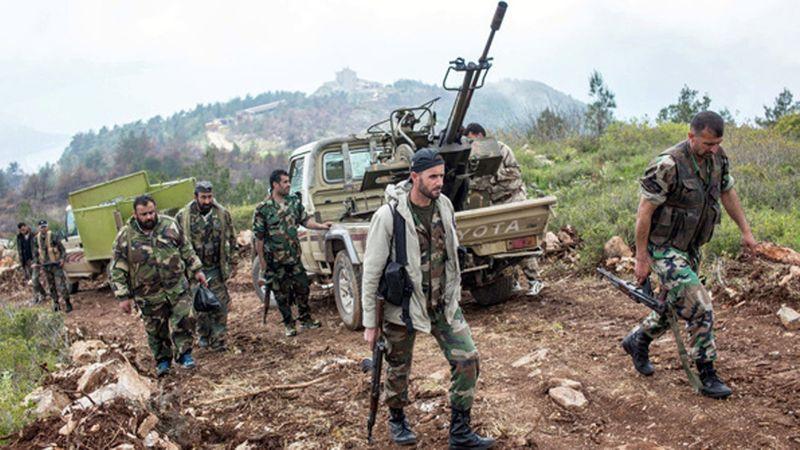 ناکامی تروریست ها در حمله به پایگاه ارتش سوریه