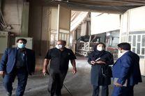 بازدید رییس نظام مهندسی کشاورزی یزد و محیط زیست شهرستان اشکذر از صنایع