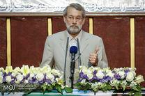پیام تبریک لاریجانی به رئیسجمهور عراق