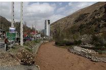 ۱۱۸۰۰متر مربع از اراضی بستر رودخانه جاجرود آزاد سازی می شود