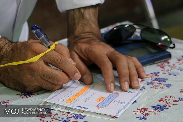 شمارش آراء روستاهای لرستان/ روحانی و رئیسی مساوی هستند