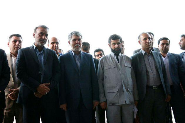 وزیر فرهنگ و ارشاد اسلامی وارد اهواز شد