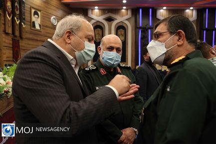تکریم و معارفه وزیر دفاع و پشتیبانی نیروهای مسلح