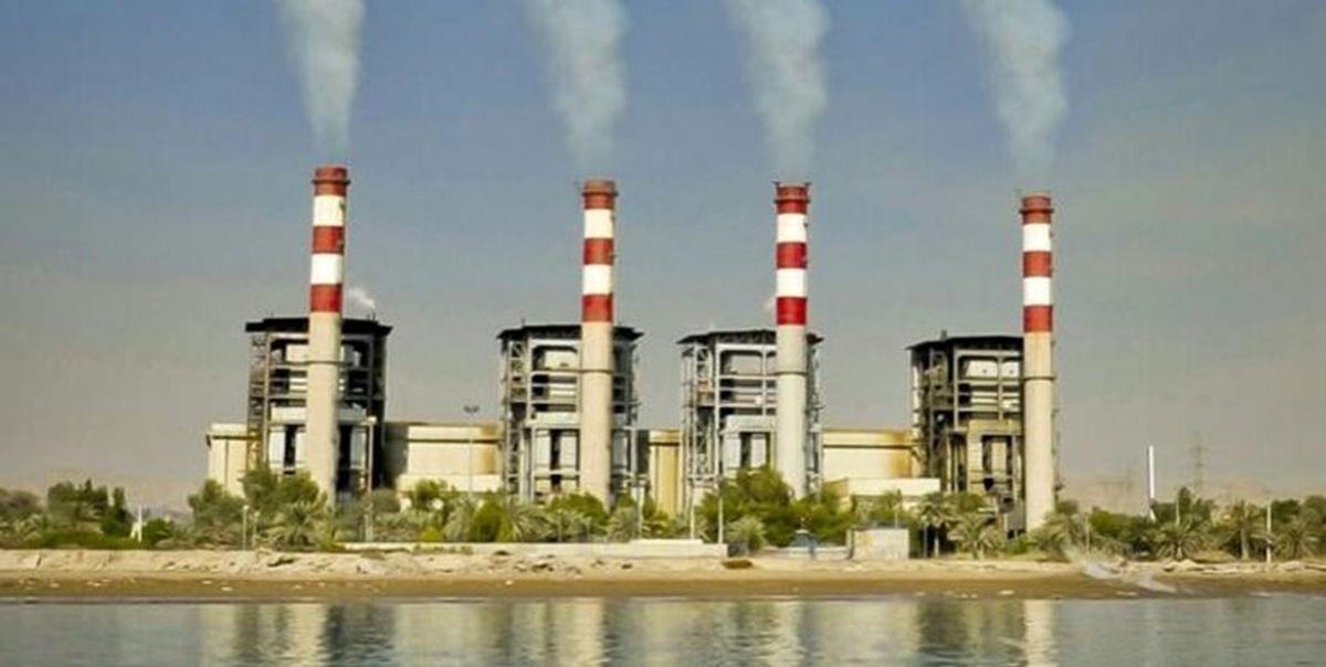 تولید 2 میلیارد و نهصد میلیون کیلووات ساعت انرژی در نیروگاه بندرعباس