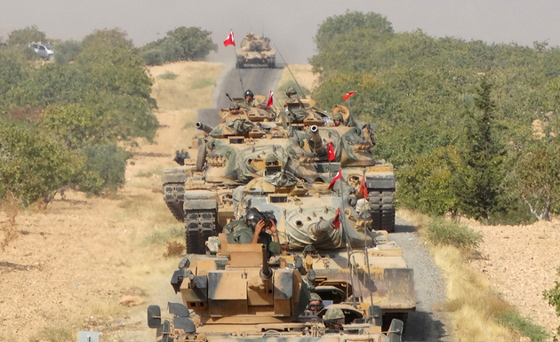 ترکیه به خاک عراق نفوذ کرد