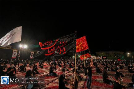 عزاداری شب عاشورای حسینی در هییت فداییان اصفهان