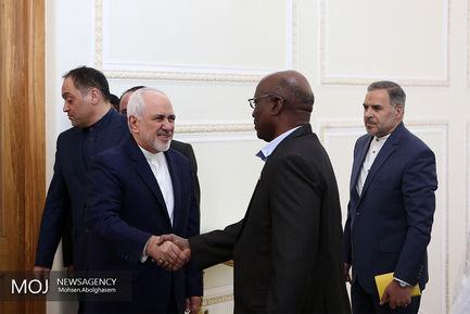 دیدار ظریف با نایب رییس مجلس نیجر