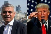 شهردار لندن خواستار لغو سفر ترامپ به بریتانیا شد