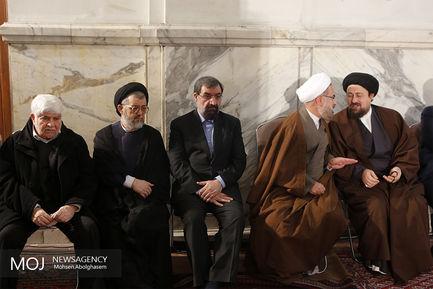 مراسم اولین سالگرد فوت آیت الله هاشمی رفسنجانی