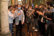 حضور بشار اسد و همسرش در نمایشگاهی در دمشق