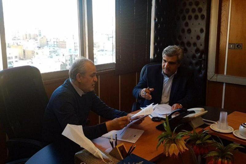 دیدار استاندار گیلان با مدیرعامل شرکت توسعه منابع آب کشور