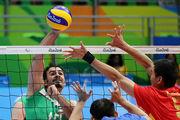 پیروزی تیم والیبال نشسته مردان ایران برابر عراق