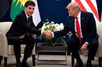 بارزانی در حاشیه اجلاس داووس با ترامپ دیدار کرد