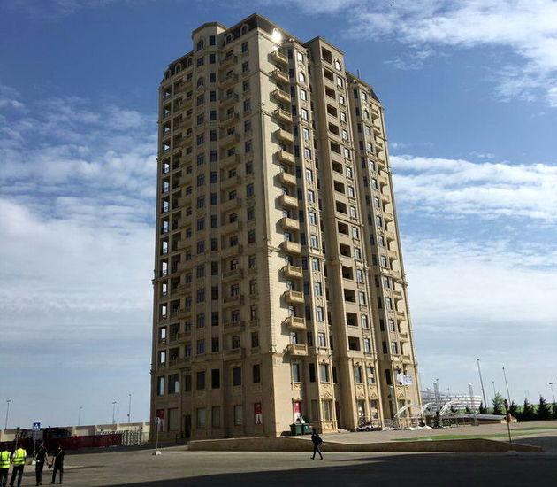 ساختمان شماره ٨ به کاروان ایران اختصاص یافت