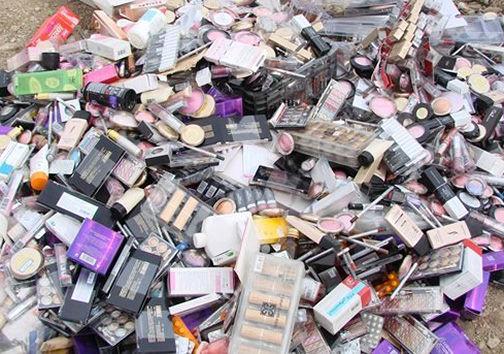 کشف بیش از ۱۰۰ هزار قلم لوازم آرایشی بهداشتی غیرمجاز در گلستان