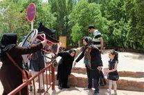 مناسبسازی معابر مرکزی شهر تهران برای معلولان
