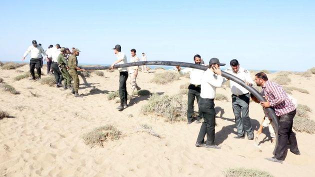 انهدام یک باند قاچاق سوخت در سواحل ابوموسی