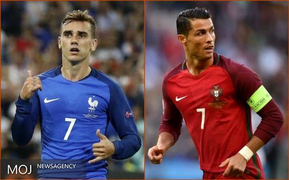 فرانسه - پرتغال؛ یادآور زیدان و مارادونا است