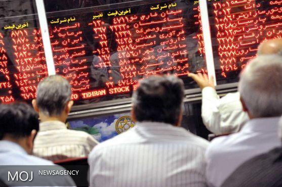 سقوط ۳۳۲ واحدی در بورس تهران