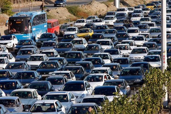 آخرین وضعیت ترافیک معابر بزرگراهی تهران در 26 فروردین