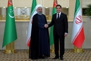 13 سند و یادداشت تفاهم نامه ما بین ایران و ترکمنستان امضا شد