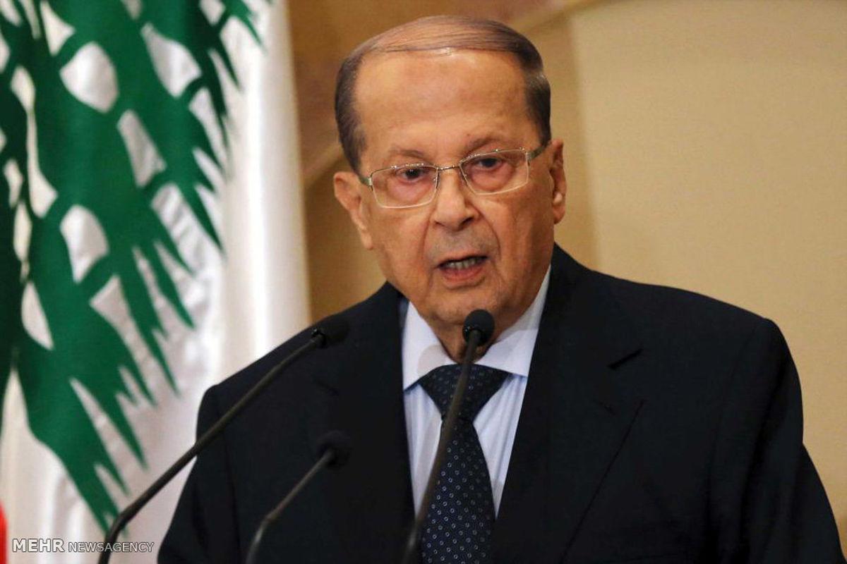 انتقاد میشل عون به حضور آوارگان سوری در لبنان