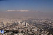 افزایش نسبی دمای هوا و غلظت آلاینده «ازن» در پایتخت