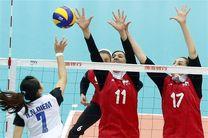 تیم ملی والیبال بانوان راهی اسلوونی شد