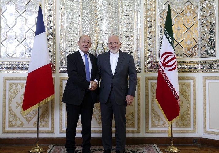 پیام ظریف به وزیر خارجه فرانسه تحویل داده شد