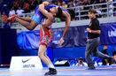 تیم کشتی فرنگی امید ایران به عنوان قهرمانی دست یافت