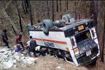 سقوط اتوبوس مسافربری به دره در پاکستان/ 17 نفر کشته شدند