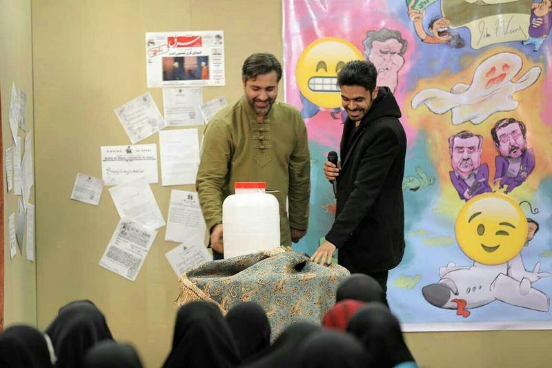 علی زکریایی و محمد صفایی در یازدهمین شب انقلاب اسلامی اجرا کردند