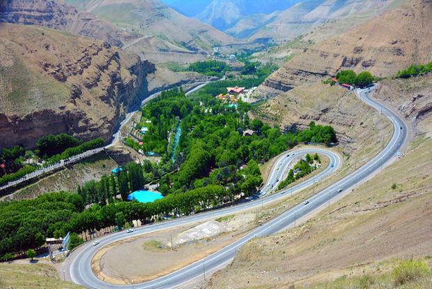محورهای مواصلاتی البرز گذرگاه گردشگری کشور است