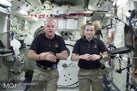 اوج هیجان المپیک در فضا