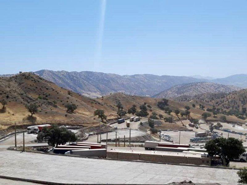 بار مبادلاتی ایران و عراق بر دوش مرزهای استان کرمانشاه است