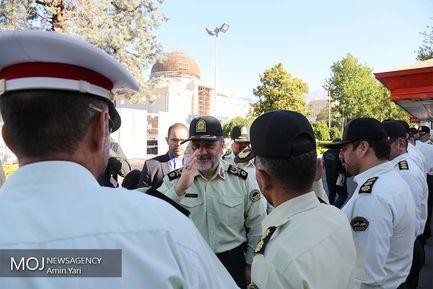 گرد همایی روسای پلیس آگاهی نیروی انتظامی
