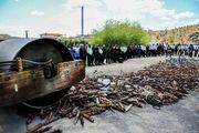 معدوم سازی ۱۱۰۰ قلیان در راستای مقابله با کرونا