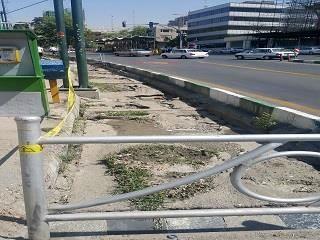 آغاز عملیات مرمت نهر خیابان ولیعصر (عج) در محدوده ناحیه 5