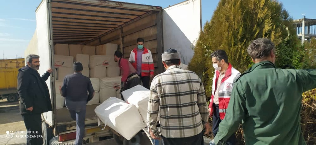 مشکل انبار امدادی جمعیت هلال احمر شهرستان ملایر مرتفع شد