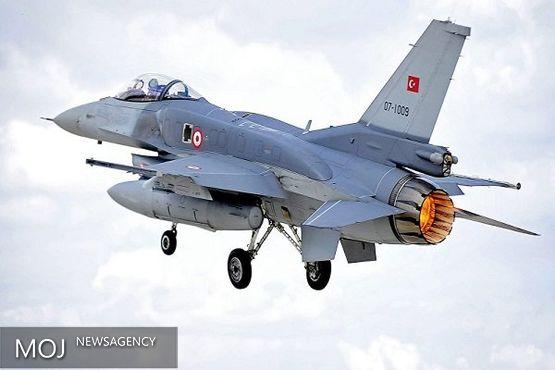حمله جنگنده های ترکیه به شمال عراق