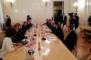 ظریف با همتای روسی خود دیدار و رایزنی کرد
