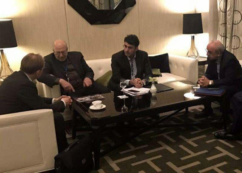 رایزنی نعمتزاده با صاحبان صنایع روسیه
