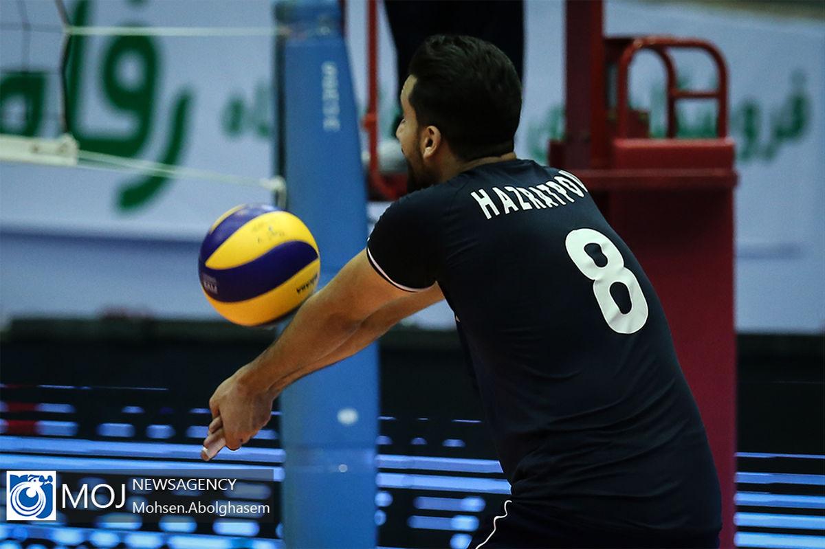 ترکیب تیم ملی والیبال ایران مقابل ایتالیا اعلام شد