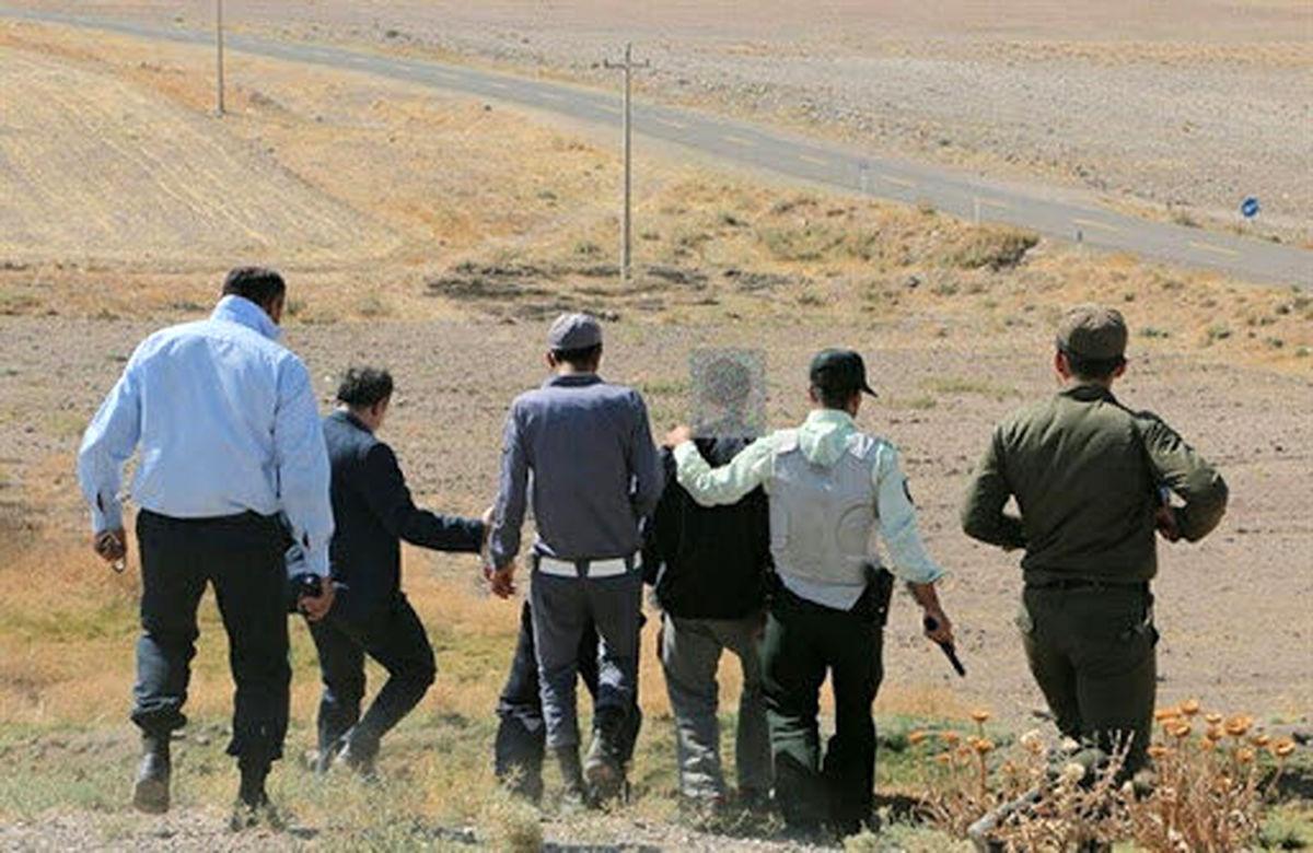 غارتگران میراث فرهنگی کردستان در دهگلان به دام افتادند