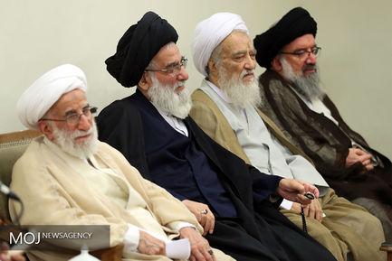 دیدار رییس و اعضای مجلس خبرگان با مقام معظم رهبری