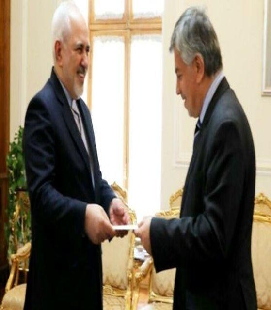سفیر جدید عراق رونوشت استوارنامه خود را به ظریف تسلیم کرد
