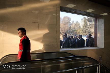بازدید شهردار تهران از خط ۶ و ۷ مترو